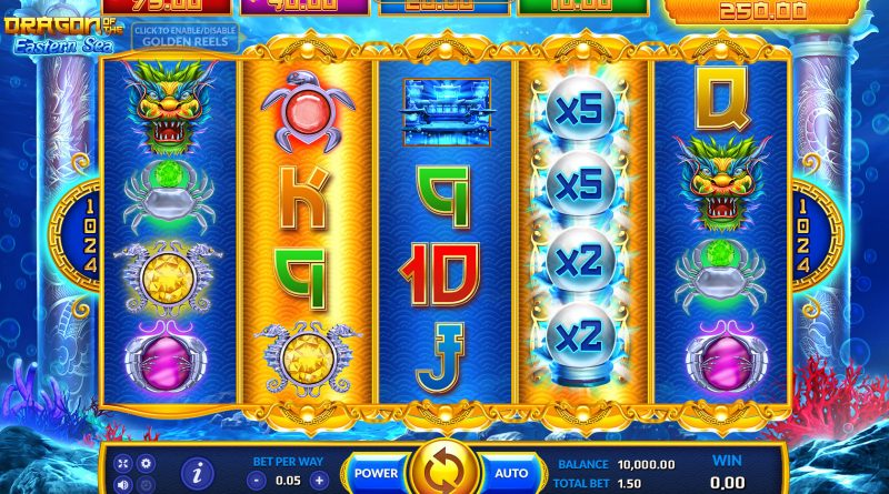 dragon of easten sea slot